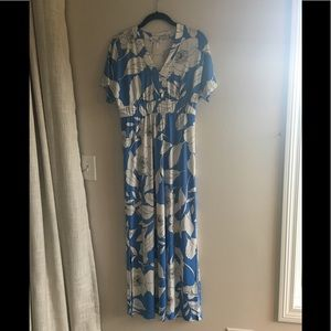 London times maxi dress, size 8 petite